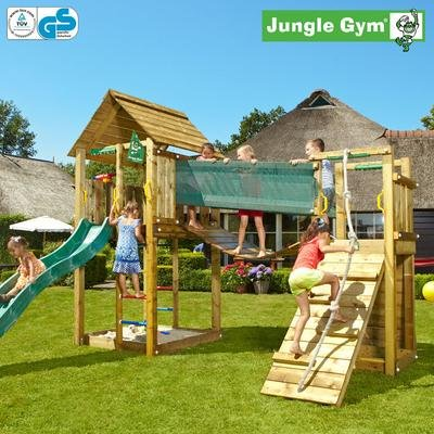 jungle gym noahs cabin spielturm vorgestellt spielturm freaks. Black Bedroom Furniture Sets. Home Design Ideas